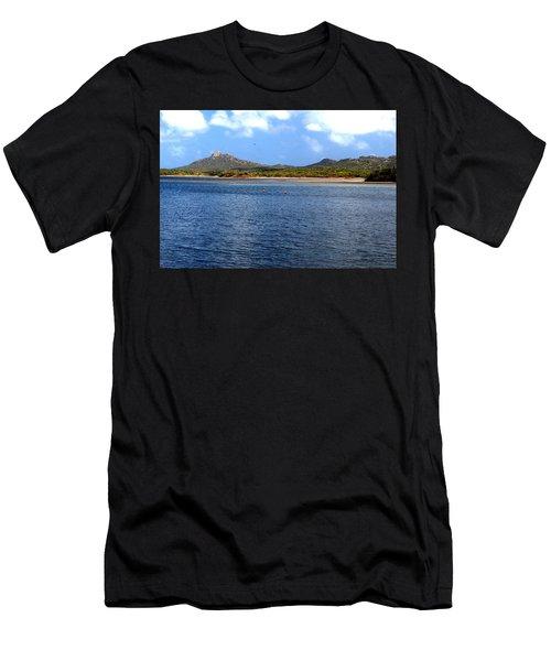 Flamingo's Home Men's T-Shirt (Athletic Fit)