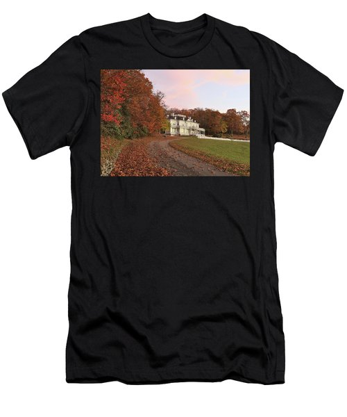 Flat Top Manor At Sunrise Men's T-Shirt (Athletic Fit)