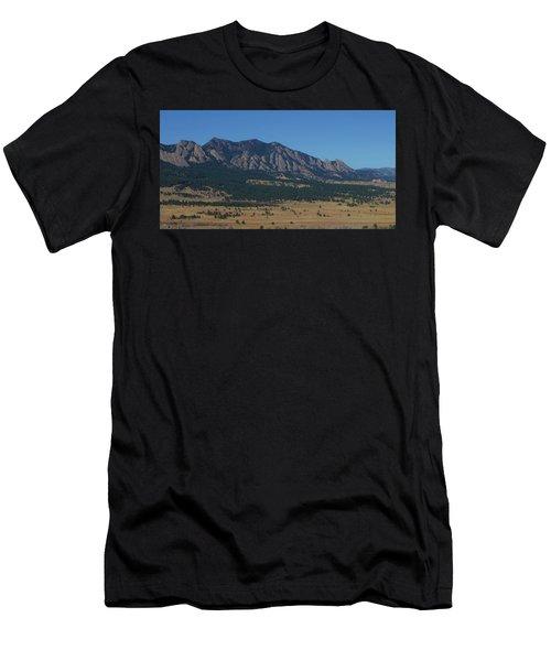 Flatirons Of Boulder Men's T-Shirt (Athletic Fit)