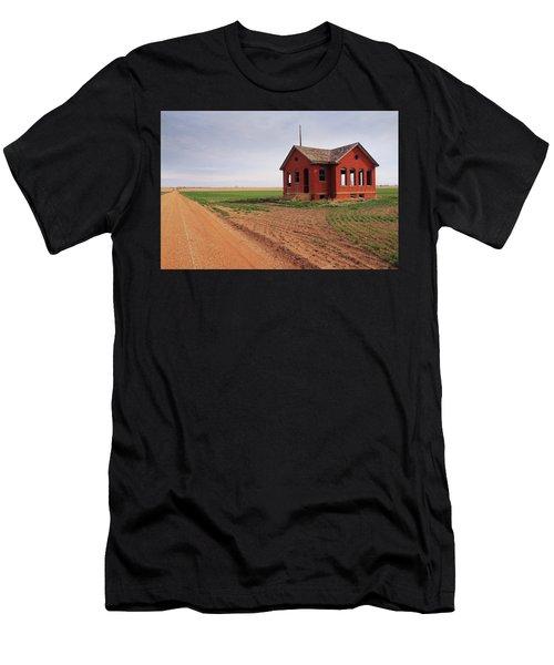 Flatland Schoolhouse Men's T-Shirt (Athletic Fit)