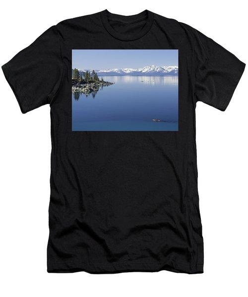 Flatwater Kayak Men's T-Shirt (Athletic Fit)