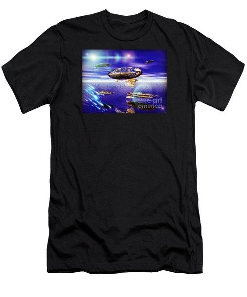 Fleet Tropical Men's T-Shirt (Athletic Fit)