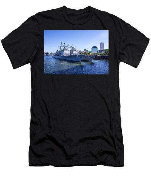 Fleet Week In Portland, Oregon Men's T-Shirt (Athletic Fit)