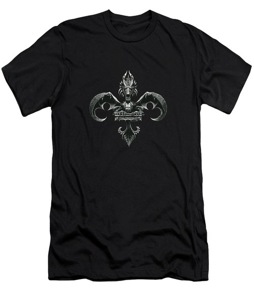 Fleur D Lis Men's T-Shirt (Athletic Fit)