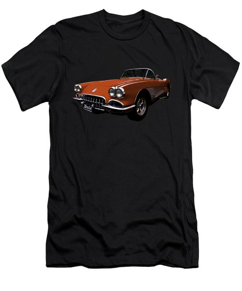 Flexing That Corvette Muscle Men's T-Shirt (Athletic Fit)