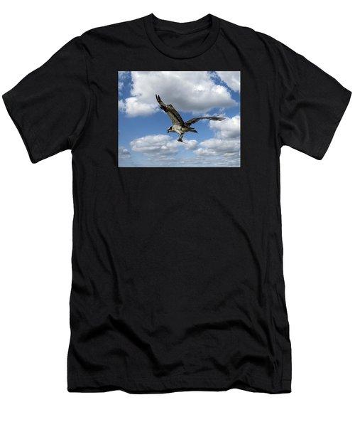 Flight Among The Clouds Men's T-Shirt (Athletic Fit)