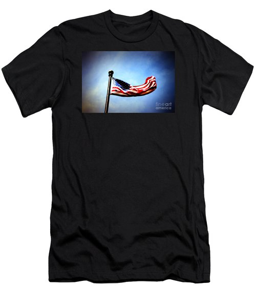 Flight Of Freedom Men's T-Shirt (Athletic Fit)