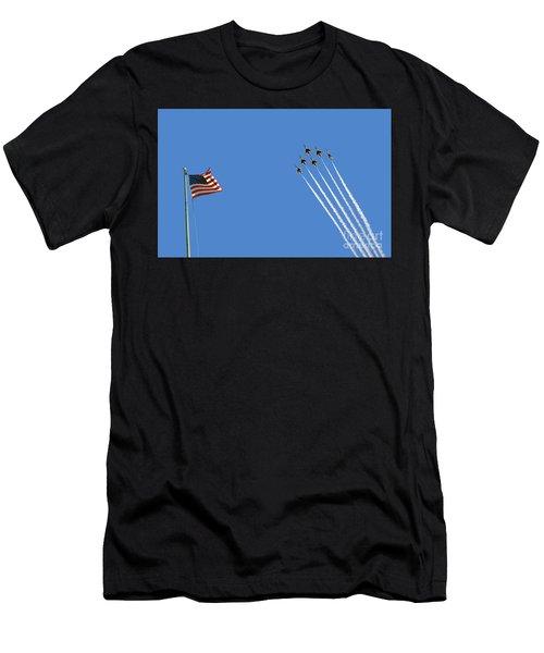 Flight Of Six Men's T-Shirt (Athletic Fit)