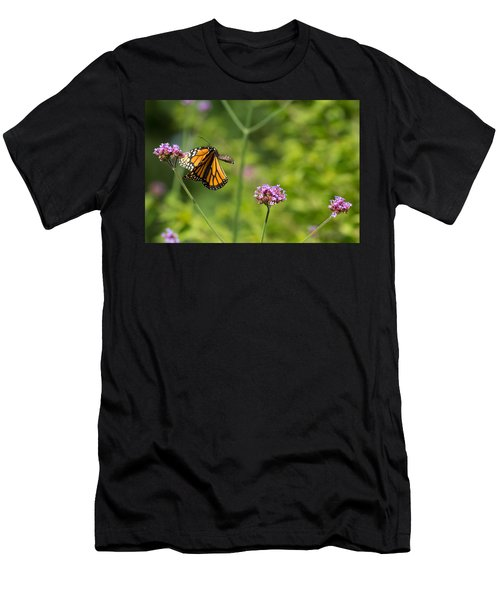 Flight Of The Monarch 2 Men's T-Shirt (Athletic Fit)