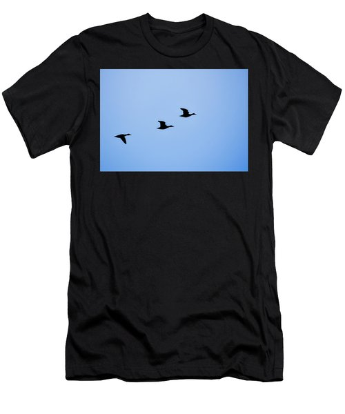 Flight Of Three Men's T-Shirt (Athletic Fit)