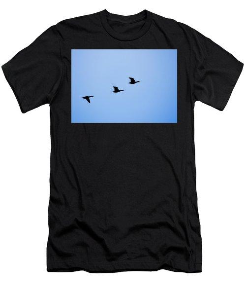 Flight Of Three Men's T-Shirt (Athletic Fit)