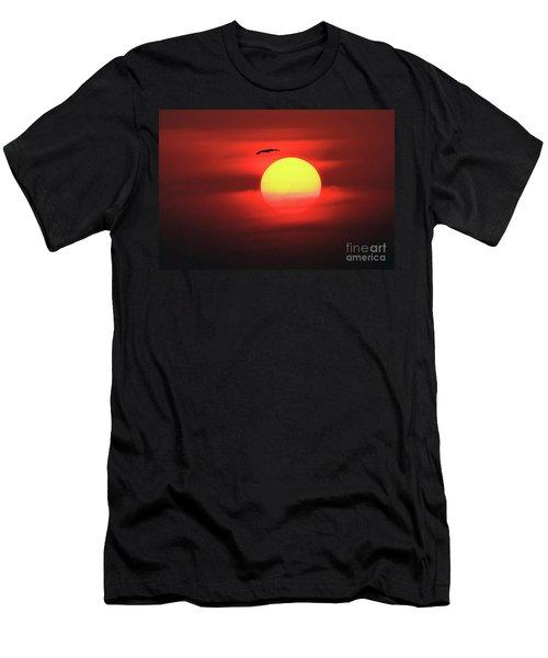 Flight To The Sun Men's T-Shirt (Athletic Fit)
