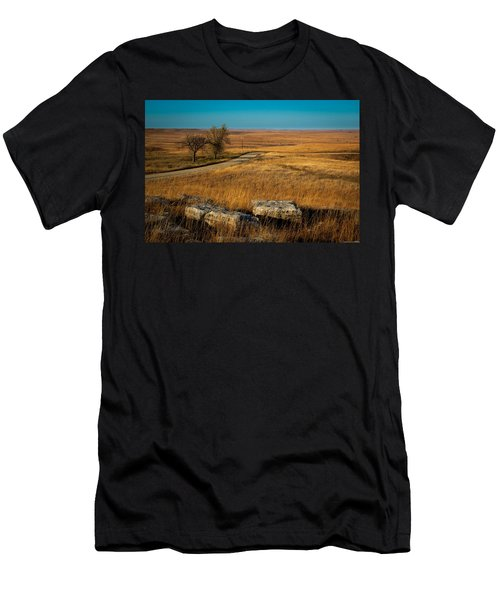 Flint Hills Two Trees Men's T-Shirt (Athletic Fit)