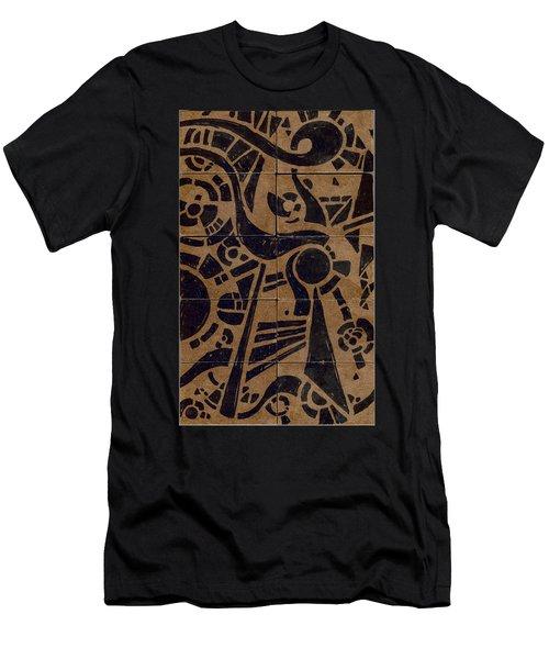 Flipside 1 Panel C Men's T-Shirt (Athletic Fit)