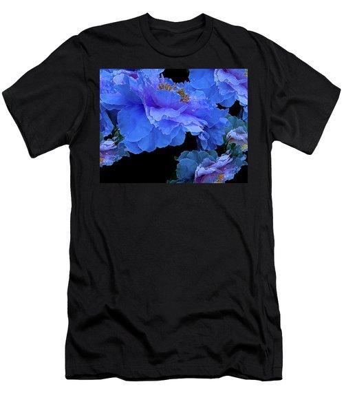 Floating Bouquet 10 Men's T-Shirt (Slim Fit) by Lynda Lehmann