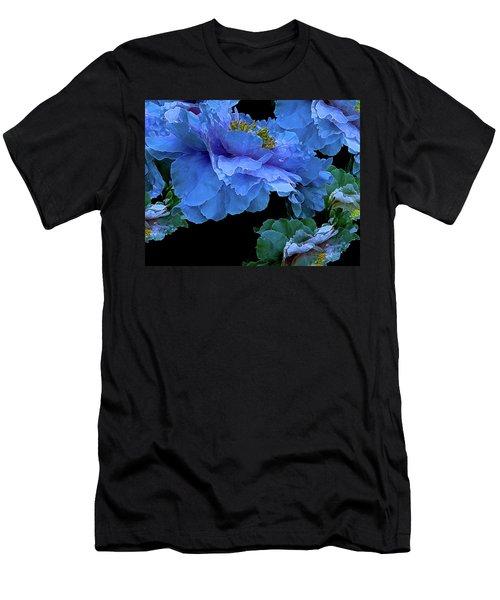 Floating Bouquet 14 Men's T-Shirt (Slim Fit) by Lynda Lehmann