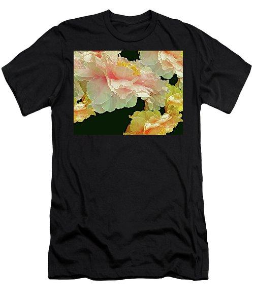 Floating Bouquet 31 Men's T-Shirt (Slim Fit) by Lynda Lehmann