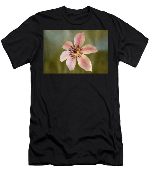 Floating Clematis Blossom Men's T-Shirt (Athletic Fit)