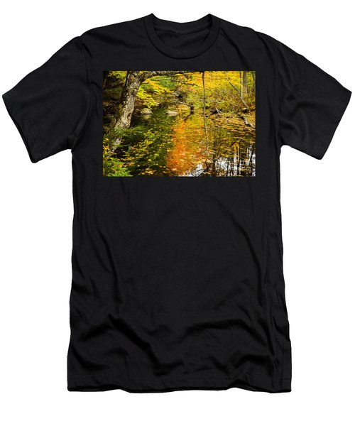 Floating Down Stream Men's T-Shirt (Athletic Fit)