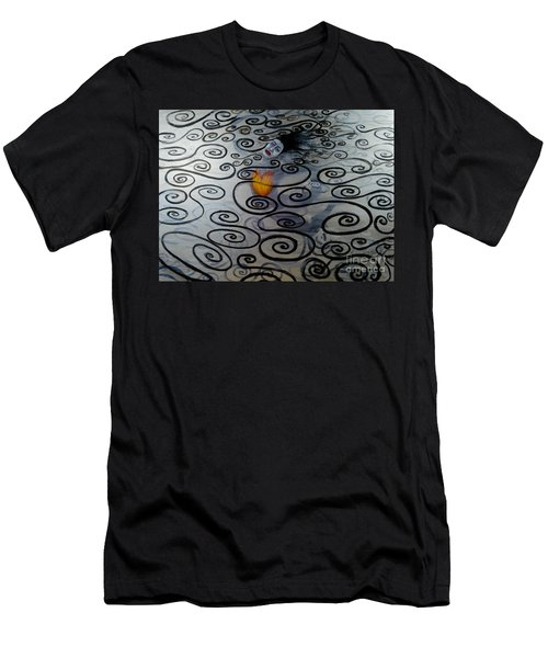Floating Hearts Twenty Two Men's T-Shirt (Athletic Fit)