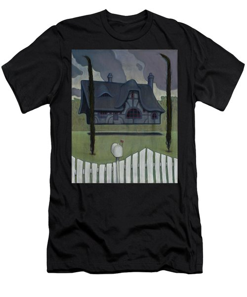 Floating House Men's T-Shirt (Athletic Fit)
