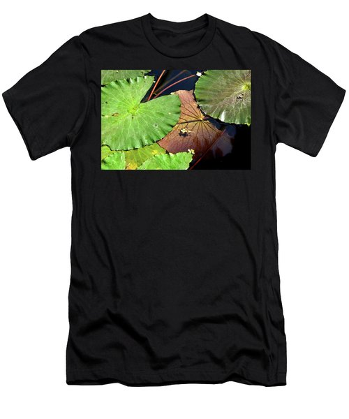Floating Lily Pads Men's T-Shirt (Athletic Fit)