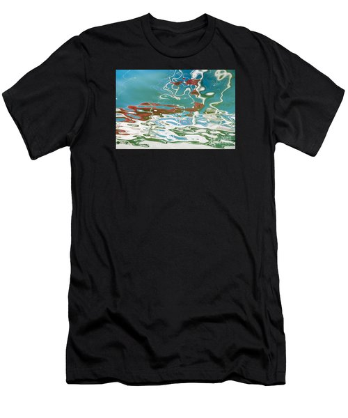 Floating On Blue 35 Men's T-Shirt (Athletic Fit)