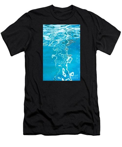 Floating On Blue 38 Men's T-Shirt (Athletic Fit)