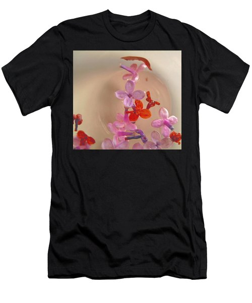 Floating Petals In A Bowl Men's T-Shirt (Athletic Fit)