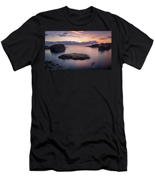 Floating Rocks Men's T-Shirt (Athletic Fit)