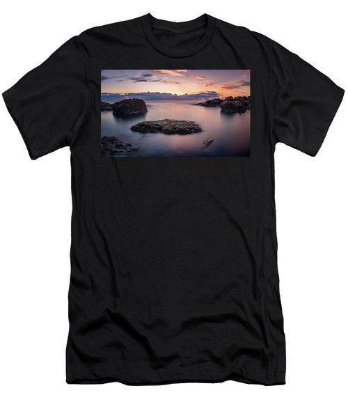 Floating Rocks Men's T-Shirt (Athletic Fit)