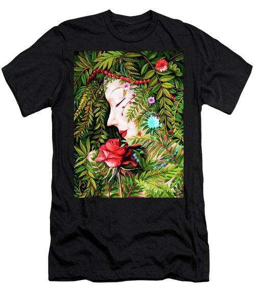 Flora-da-vita Men's T-Shirt (Athletic Fit)