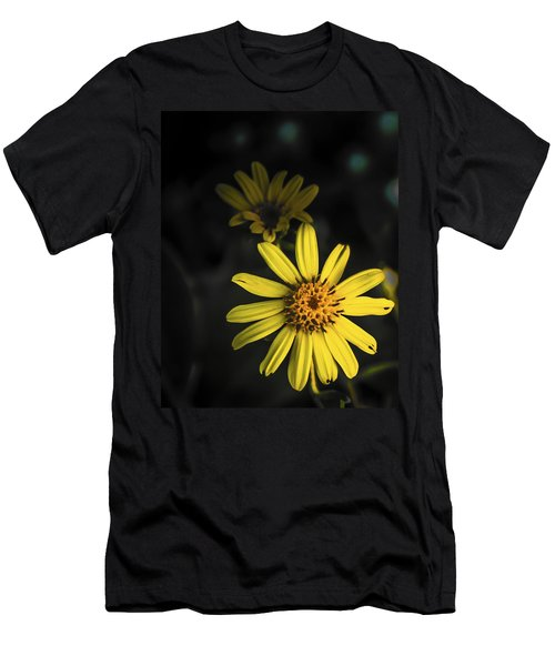 Flora In Yellow Men's T-Shirt (Athletic Fit)