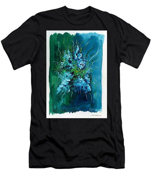 Floral 6 Men's T-Shirt (Athletic Fit)