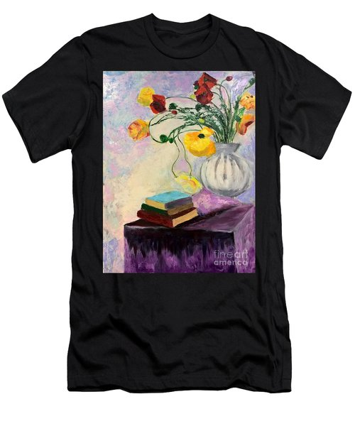 Floral Abstract Men's T-Shirt (Athletic Fit)
