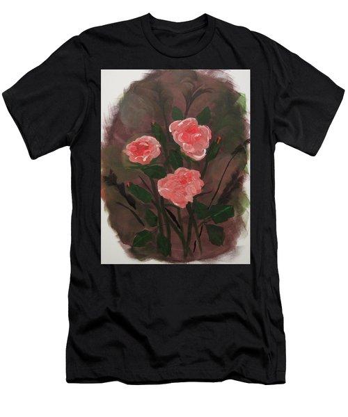Floral Art Men's T-Shirt (Athletic Fit)