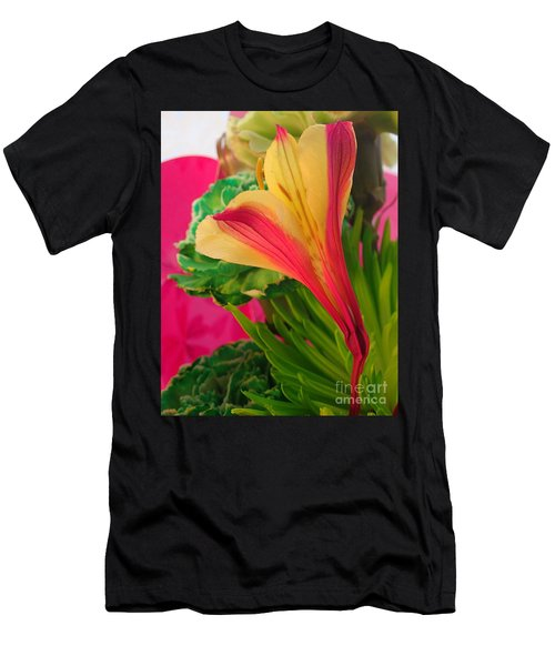 Floral Fusion Men's T-Shirt (Athletic Fit)