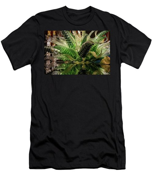 Floral In Glass Men's T-Shirt (Athletic Fit)