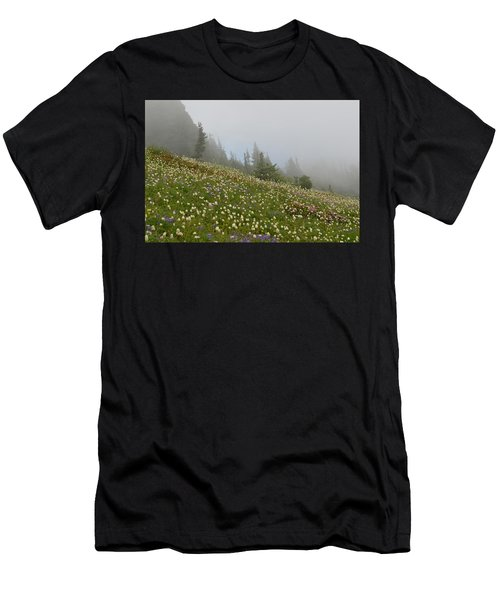 Floral Meadow Men's T-Shirt (Athletic Fit)