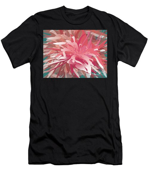 Floral Profusion Men's T-Shirt (Athletic Fit)
