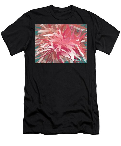 Floral Profusion Men's T-Shirt (Athletic Fit)