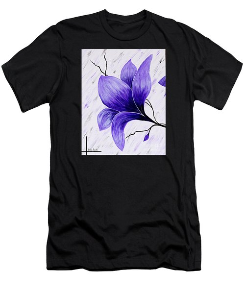 Floral Slumber Men's T-Shirt (Athletic Fit)