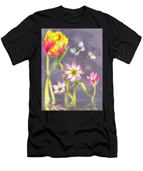 Floral Supreme Men's T-Shirt (Athletic Fit)
