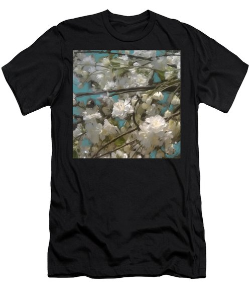 Floral01 Men's T-Shirt (Athletic Fit)