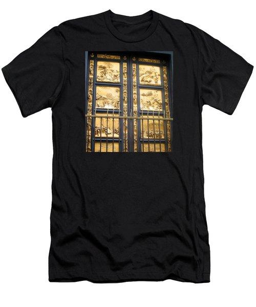 Florence Baptistry Doors Men's T-Shirt (Athletic Fit)