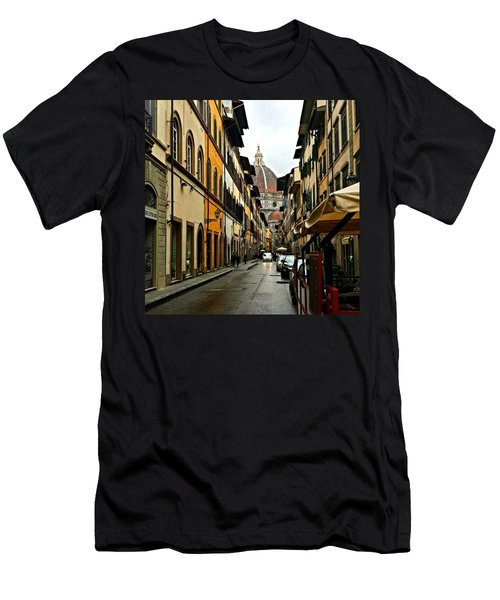 Florence Italy Men's T-Shirt (Athletic Fit)