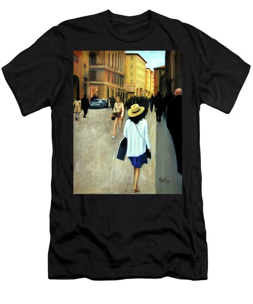 Florence Trip Men's T-Shirt (Athletic Fit)
