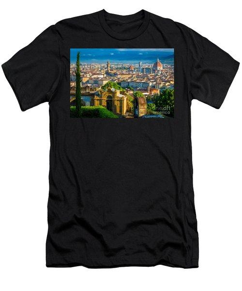 Florentine Vista Men's T-Shirt (Athletic Fit)