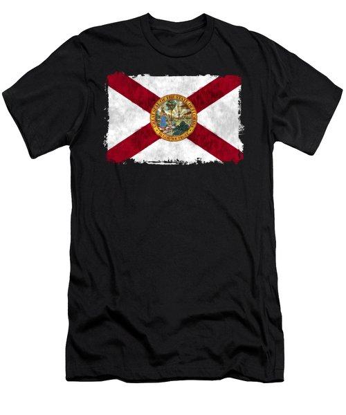 Florida Flag Men's T-Shirt (Athletic Fit)