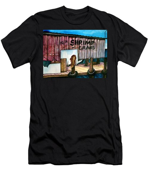 Men's T-Shirt (Slim Fit) featuring the painting Florida Fresh by Lil Taylor